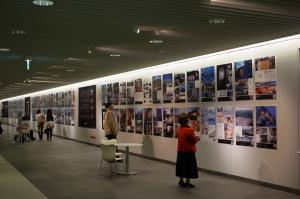 札幌地下通路「北海道建築展」