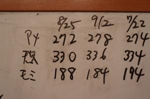 カブトニオイガメ体重測定